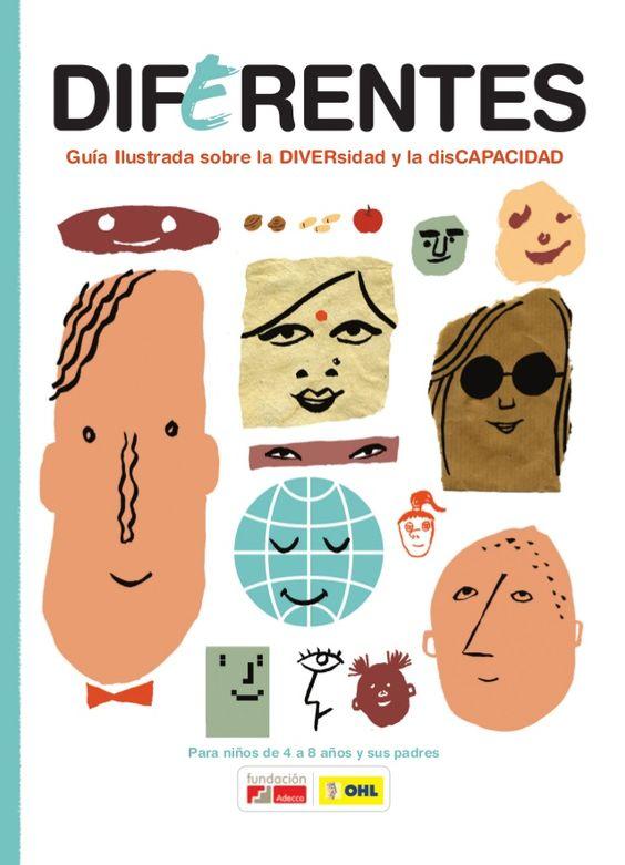 Guía ilustrada Diferentes sobre Diversidad y disCapacidad (parte 1)