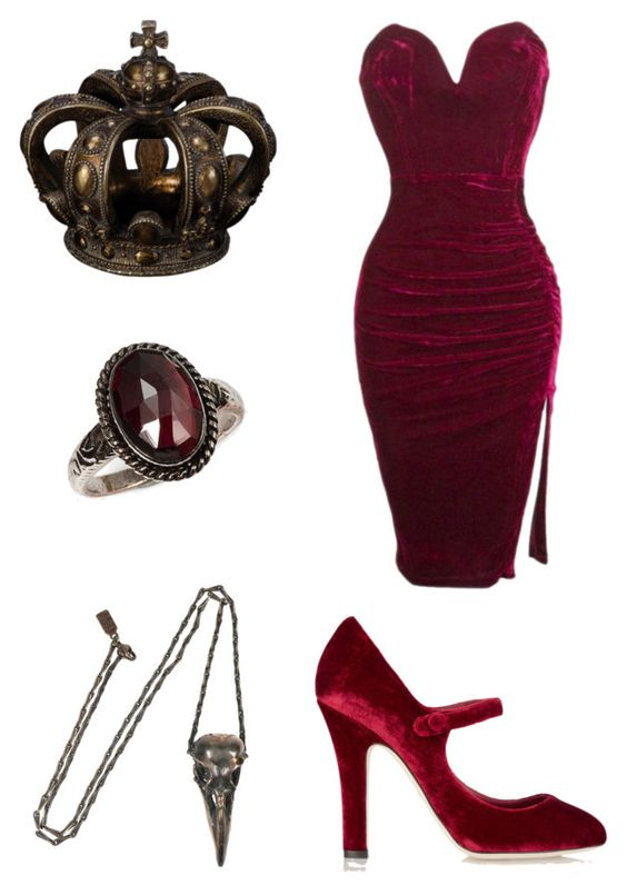 """""""Control"""" by pipertehcat ❤ liked on Polyvore featuring Dolce&Gabbana and Pamela Love"""