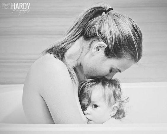 Baby nursing photo