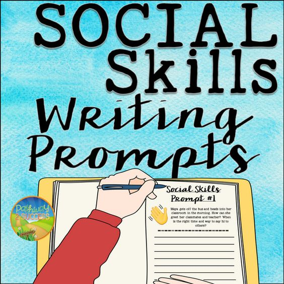 social skills writing prompts Examples of iep goals and objectives suggestions for students with autism examples _____ will develop social understanding skills prompts 4/5 opportunities.