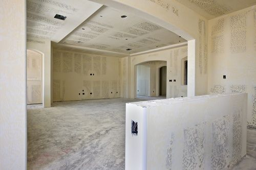 Average Cost To Install Drywall In A Single Room Is About 400 700 12 X12 Find Here Detailed Infor Drywall Installation Dance Studio Design Installation