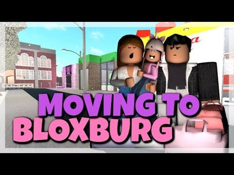 Family Moves Into Bloxburg Youtube In 2020 With Images