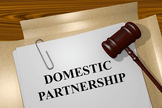 A domestic partnership is a legal relationship, similar to marriage, which grants certain rights to same-sex couples 18 and older, and to opposite-sex couples where at least one of the partners is 62 or older.