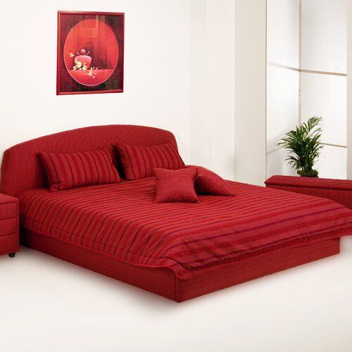 Tagesdecke Jalen 17 Stories Grosse 257 Cm B X 232 Cm L Farbe Rot