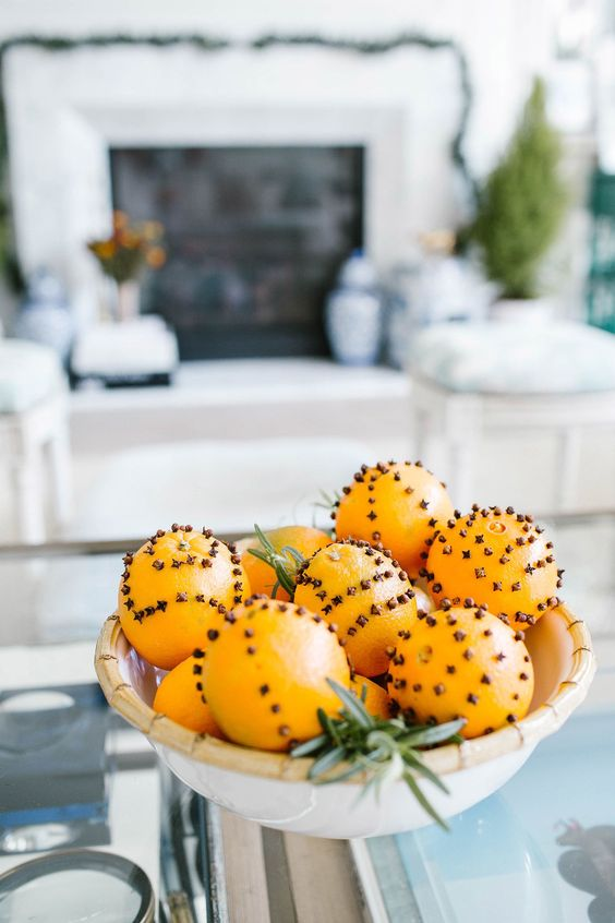 Orange Umbrella Clove Pomanders | Gray Malin