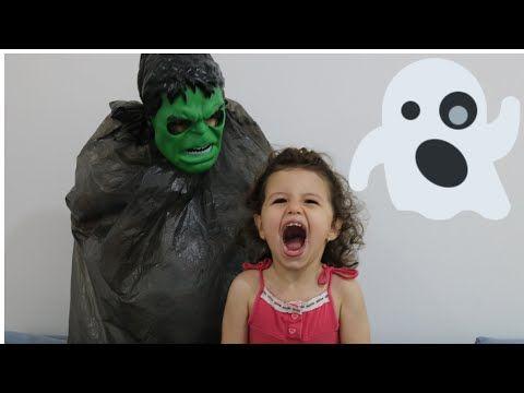 ماسة والوحش الاخضر مقلبنا ماسةikm مقلب مرعب قناع وحش Funny Kids Scared Of Masks Youtube Woonkamers