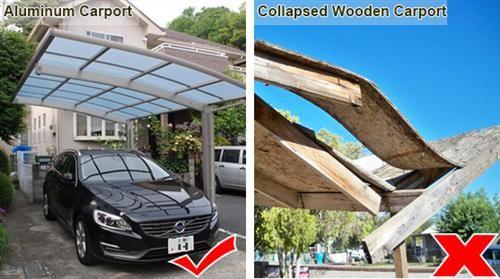 2 Car Carport Sunshield Modern Carports Manufacturer Alum Carports Modern Carport 2 Car Carport Carport