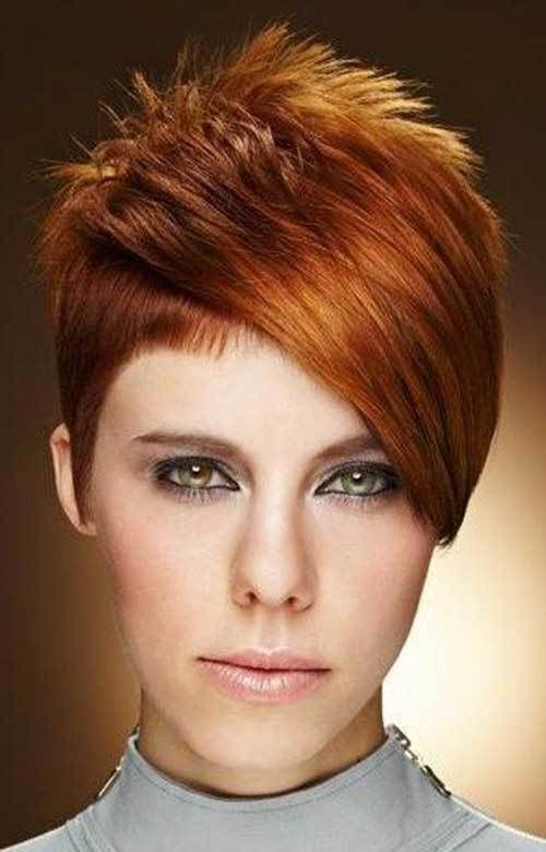 short-red-hair-1 Best Short Hairstyle Ideas 2019