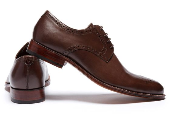 Grenson Tyler Brown Leather Shoe