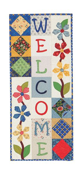 Flower Welcome Pattern Download