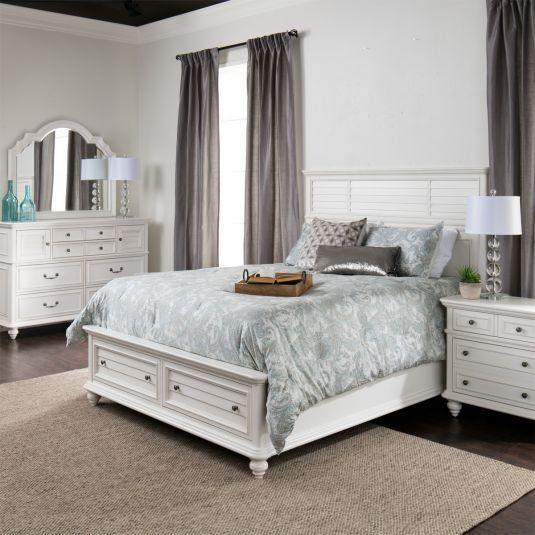Sea Island Storage Bedroom Collection Jerome S Furniture Affordable Bedroom Furniture Furniture Bedroom Furniture Sets