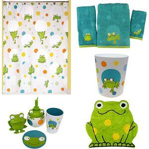 Home office decorating ideas frog bathroom decor for Frog bathroom ideas