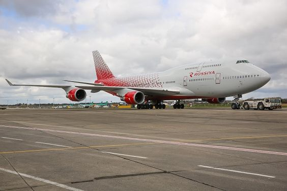 April 2016, Aeroflot Group carrier Rossiya has taken delivery of a Boeing 747-400 bearing the revised and modernised livery of the newly-consolidated carrier.