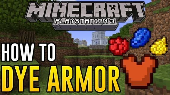 how to make dyed armor in minecraft