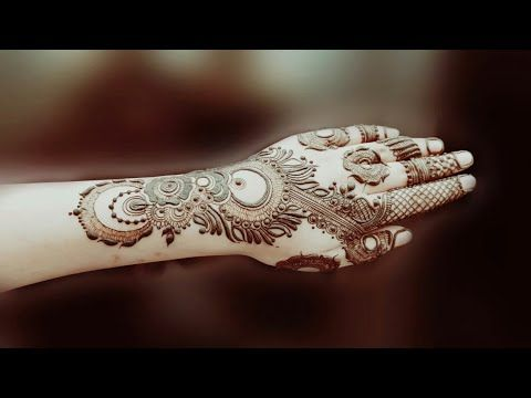 Dubai Style Henna Design 10 Youtube Henna Designs Mehandi