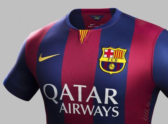 New FC Barcelona Kits (Home)