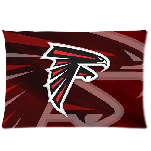 Atlanta Falcons Custom Pillow Case 2 Side  16 x by Designcaseshop, $17.60
