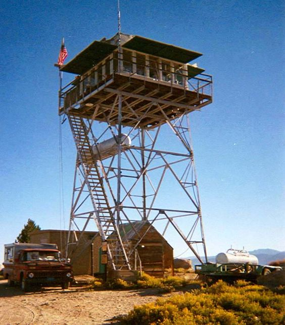 A classic old lookout fire lookout towers google search for Fire lookout tower plans