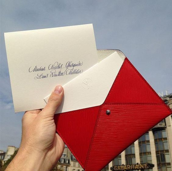 Louis Vuitton invite