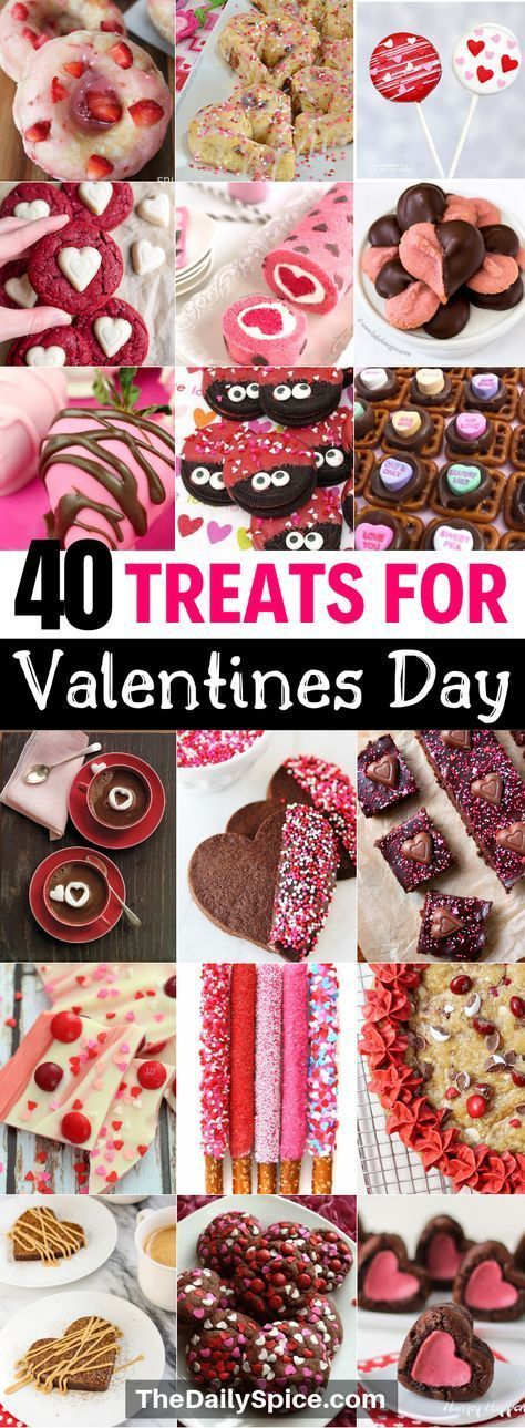 40 Valentines Day Treats Everyone Will Love - The Daily Spice