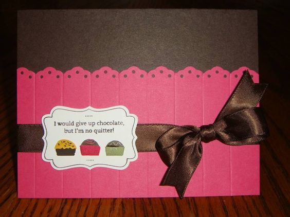 Eat Chocolate card by kkb