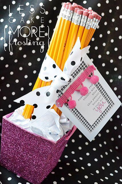 5 Homemade Teacher Gifts