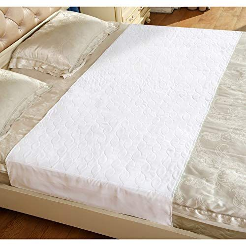 Washable Bed Protector Pad With Tucks 34 X 52 Inches Waterproof