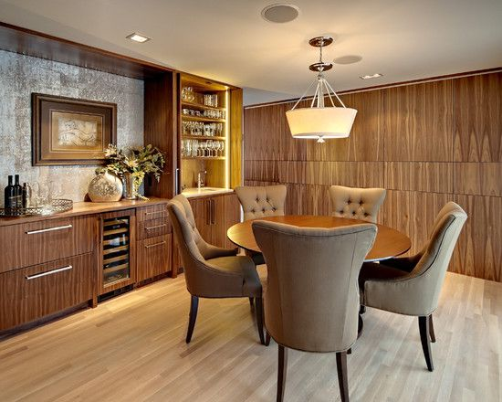 Modern Built In Buffet Design Pictures Remodel Decor And Ideas