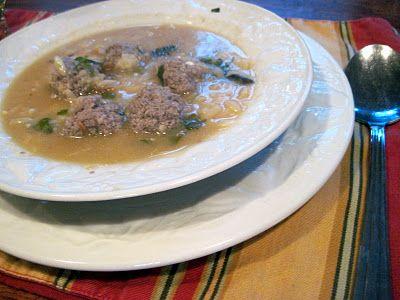 Wonderful Greek Wedding Soup