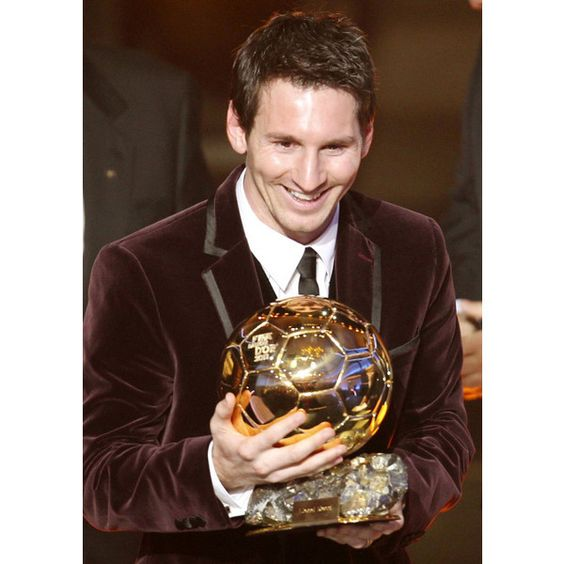 Ballon d'Or for Lionel Messi and Japan's Homare Sawa ❤ liked on Polyvore featuring lionel messi and leo messi