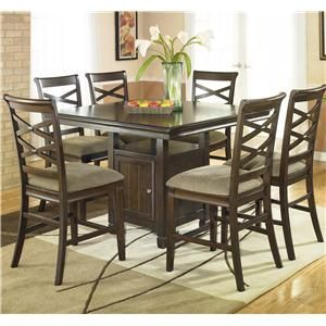 I Completely Fell In Love With This Dining Set At Ashely Furniture This WILL