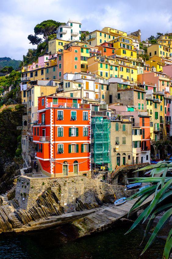 Riomaggiore, Cinque Terre, Italien #travelwithkids #vamosreisen