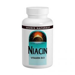 Source Naturals, Niacin, 100 Mg, 250 Tablets, Diet Suplements 蛇