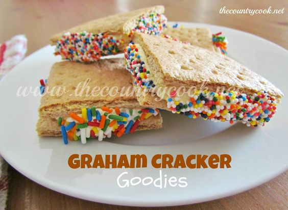 The Country Cook: Graham Cracker Goodies
