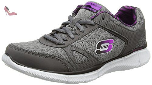 Go Walk 3, Sneakers Basses Femme Purple (Purple (Pur)) 41 EUSkechers