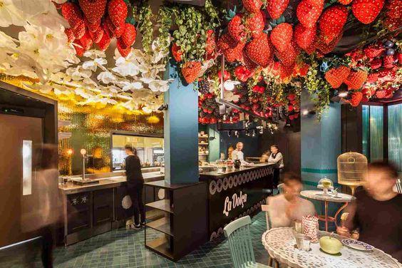 Кафе-кондитерская La Dolça в Барселоне: