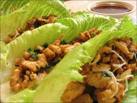 Saucy Mom: Asian Lettuce Wraps
