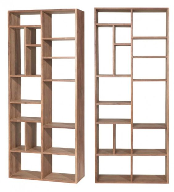 Boekenkast hout - Bookcases | Pinterest - Hout, Kasten en Kast