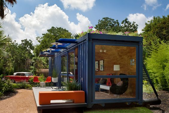 container living: if i had the time, space + money i would create myself one in a heartbeat | TheGregoryProject