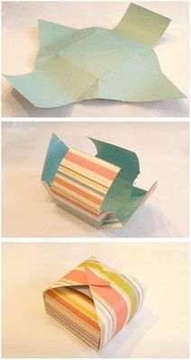 Really Simple Paper Box Download - Paper Kawaii - Easy and fun for little fingers to open