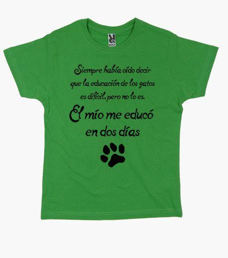 Camiseta La educación de los gatos