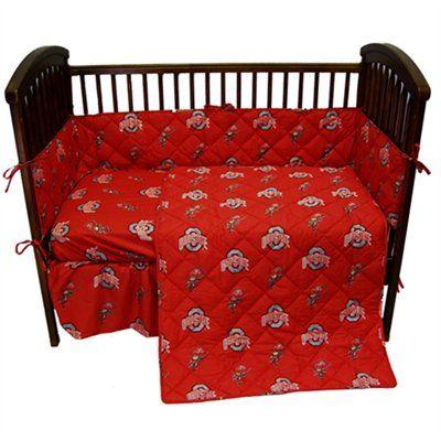 Buckeyes Crib Set