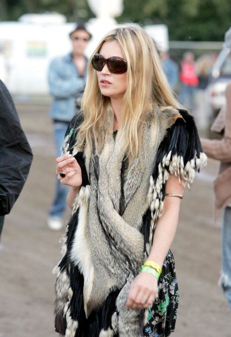Kate Moss festival boho fashion: