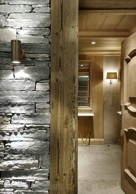 Chalets, Chalet interior and Design projects on Pinterest