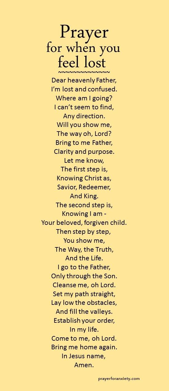 God prayer i feel lost father feelings lord feeling lost lost prayer