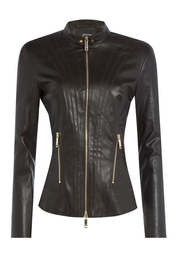 Leather Jacket detail 0