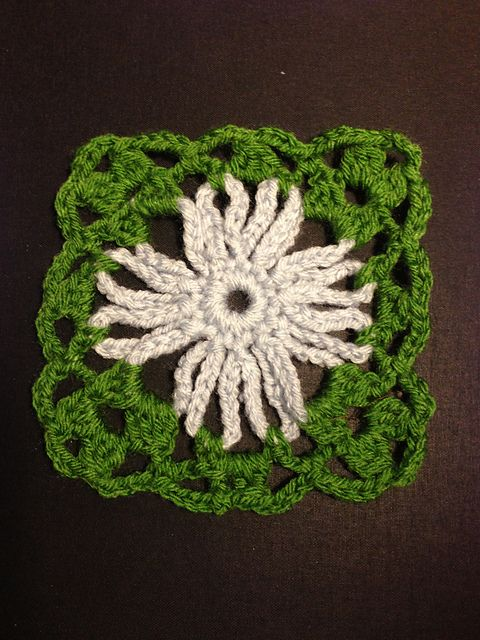 Ravelry: Project Gallery for 14 Cone Flower pattern by Margaret Hubert