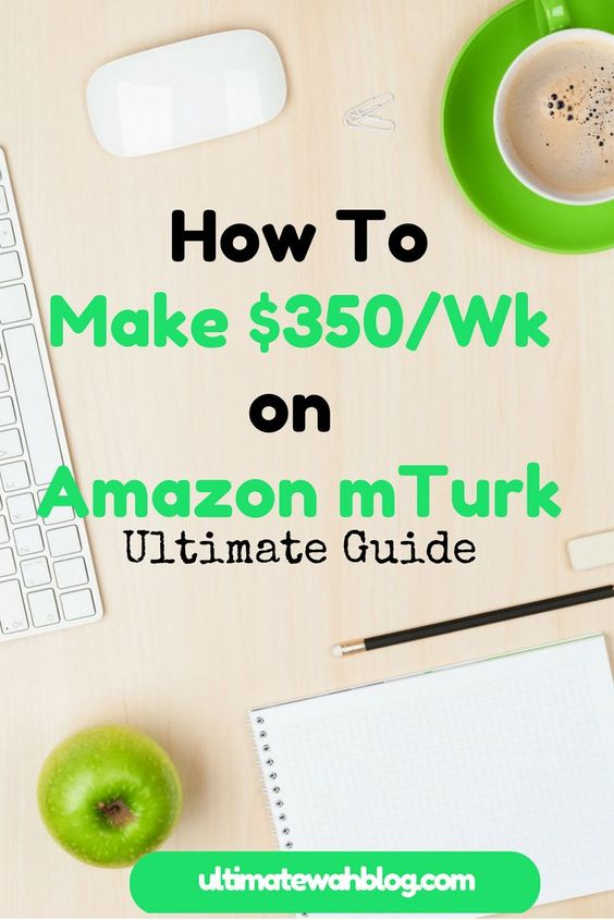 Amazon Mechanical Turk is probably one the first sites that most work from home job seekers have heard off and signed up for. Find out the tips and tricks on how to make $350+/week on Amazon mTurk.