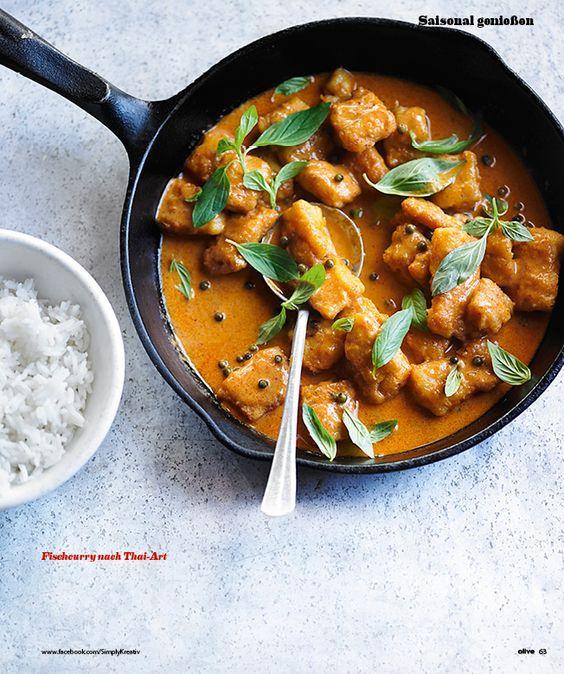 Rezept: Fischcurry nach Thai-Art