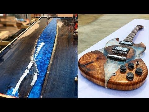 10 Most Amazing Epoxy Resin And Wood River Table Awesome Diy